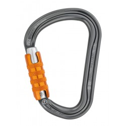 Mosquetón de aluminio asimétrico WILLIAM. PETZL