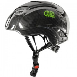 KOSMOS-casco fibra carbono -blanco-L/XL