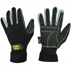 CANYON GLOVES-guantes para canyoning -negro-L