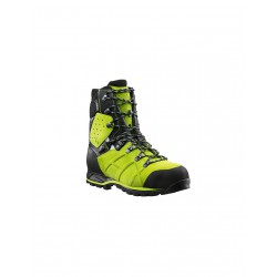 BOTA ANTICORTE HAIX ULTRA LIME GREEN - CLASE 2